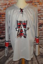 OT ECHL Allen Americans Men's Gray Hockey Jersey size XL