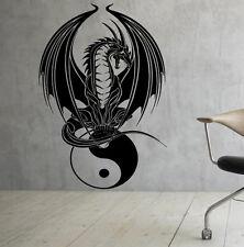 Gothic Dragon Wall Decal Vinyl Sticker Interior Housewares Art Decor (20dra6ws)
