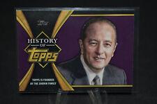 2021 Topps Series 1 History Of Topps Insert ( Pick From List )