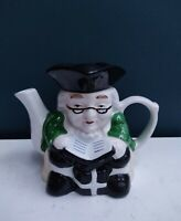 Vintage Pottery Scholar Teacher Novelty Teapot 750 ml