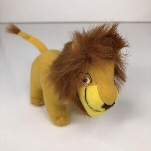 The Lion King II Simbas Pride Simba Mcdonalds Plush Toy 5 inch Happy Meal 1998