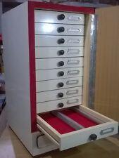Wooden Microscope Prepared Slide Storage Cabinet for 1000 Slides - Brand New