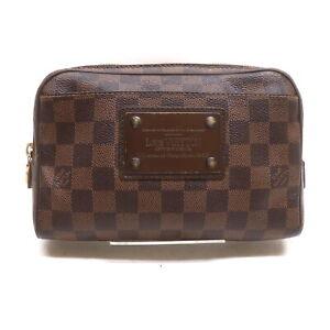 Louis Vuitton LV Waist Pouch Bag N41101 Brooklyn Browns Damier 2202199