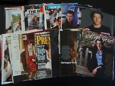 Hugh Grant  110+  full pages   Clippings