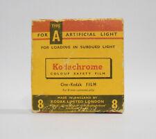 [Expired, Sealed] Kodachrome Cine-Kodak Type A 8mm Cine Film