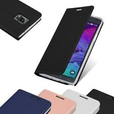 Case for Samsung Galaxy NOTE 4 Phone Cover Mat Protective Wallet Book