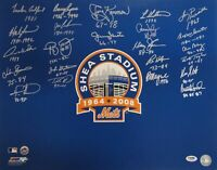 Jerry Koosman Dwight Gooden  Signed Auto 16x20 Photograph New York Mets PSA/DNA