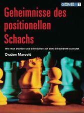 Schach Marovic - Geheimnisse des positionellen Schachs - NEU !!