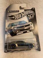 Hot Wheels Zamac 2018 Walmart Exclusive Chevy Camaro Concept (NIP)