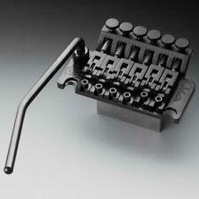 Genuine Schaller Floyd Rose Tremolo Bridge 42mm Block R2 Nut, Black Chrome