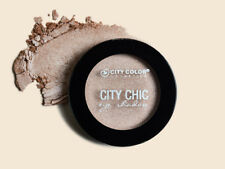 Lot of 3 City Color City Chic Eyeshadow SKINNY LATTE 3.65 g Each NEW
