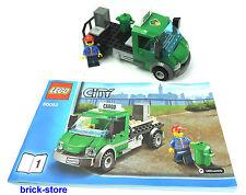 Lego ® City/ferrocarril (60052) verde cargo camiones con figura y accesorios