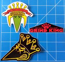 GRIND KING VINTAGE STICKER PACK #2. KIT OUT THE BEER FRIDGE!!**