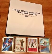 2017 James Bond Archives Final Edition Mini-Master (Binder, Throwbacks, Promo +)