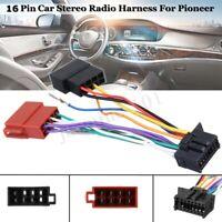 Auto Stereo Radio ISO Stecker Kabel Adapter Verbinder 16 Pin Für Pioneer ab
