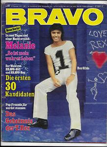 BRAVO Nr.48 vom 22.11.1971 Rex Gildo, Uriah Heep, Daliah Lavi, Pierre Brice....