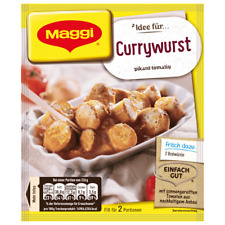 9 x MAGGI FIX and Fresh for Currywurst Sauce fresh from Germany New