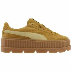 Puma Fenty By Rihanna Suede Cleated Creeper Womens  Sneakers Shoes Casual   -