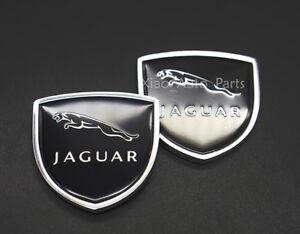2x Car Sticker Emblem Badge Auto Decal Decoration Logo For Jaguar XE XF F-TYPE