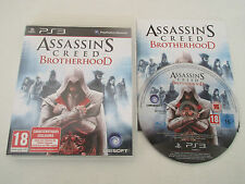 ASSASSIN'S CREED BROTHERHOOD - SONY PLAYSTATION 3 - JEU PS3 COMPLET