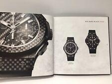 New - Catálogo Catalogue Book HUBLOT The Art of Fusion 2015 - English - Watches