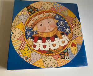 Patchwork Christmas - Mary Engelbreit Puzzle SEALED new Springbok 500 pieces vtg