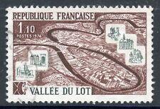 STAMP / TIMBRE FRANCE OBLITERE N° 1807  LA VALLEE DU LOT