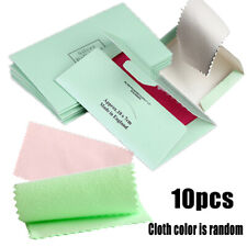 10Pcs Polishing Cloth Jewelry Polishing Silver Gold Clean Tool Jewelry Cleaner