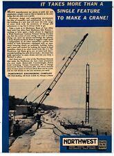 1963 Northwest Engineering Ad: Features & Specs of Northwest Shovels - Chicago