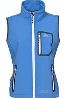 Trespass Elbrus Softshell Gilet Cornflower Blue Jacket Ladies UK Size XS *REF99*