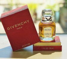 VINTAGE 70s *L'INTERDIT by GIVENCHY* splash PARFUM 30ml~1 oz LARGE SEALED bottle