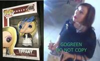 Jennifer Tilly signed Tiffany funko pop vinyl figure 468 Chucky bride cult proof