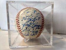 2011 Mesa Solar Sox Signed Baseball Arizona Fall League Autograph Auto