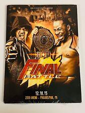 RING OF HONOR: FINAL BATTLE 2015 - DVD - ROH / WWE / NJPW / AEW (BRAND NEW)