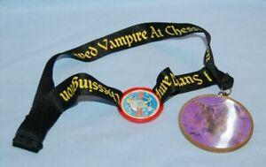 I Survived Vampire Ride At Chessington Lanyard / Medal