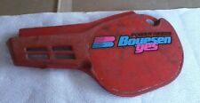 Honda CR80R / CR 80 R - 1984 - Left Cover Sub Assembly / Side Cover - Flash Red