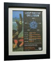 PRODIGY+Fat Of Land+TOUR+POSTER+AD+RARE+ORIGINAL+1997+FRAMED+FAST GLOBAL SHIP