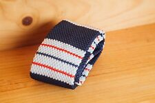 New Luxury Mens Woven Tie Necktie Knitted Skinny Fashion