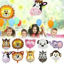 Farm Animal Lion Cow Foil Balloons Giraffe Baby Shower Birthday Party Decor