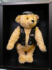 Rare Harley Davidson motor cycle Steiff bear with leather jacket ltd. 5000