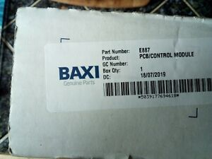 Baxi Andrews ECOflo E887 FENWAL Ignition control unit new original unit