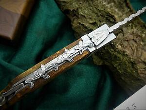 Taschenmesser LAGUIOLE Outdoormesser Designer-Messer-mit Korkenzieher   (4175)