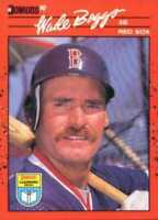 1990 Donruss Learning Series Baseball #21 Wade Boggs Boston Red Sox