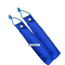 HQ gepolsterte Lenkschlaufen für Lenkdrachen 1Paar Powerkiting blau