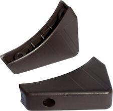 2 Möbelgleiter Kunststoff Gleiter Stuhlgleiter Tischgleiter für Ovalrohr*106-sw