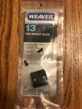 Weaver Mount 13 Top Mount Base 48013 Gloss Ships N 24hrs