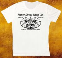 PAPER STREET SOAP CO FIGHT CLUB RETRO VINTAGE HIPSTER UNISEX T SHIRT 1069