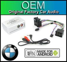 Bmw Serie 5 Aux Plomo auto estéreo teléfono inteligente Android Player Conexión Adaptador