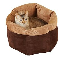 Snuggle Cuddle Cozy Pet Bed - Cat Bed - Small Breed Dog Bed - Pet Supplies