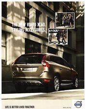 Volvo XC60 Styling Accessories 2008-09 UK Market Foldout Sales Brochure